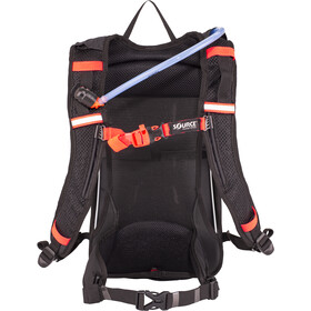 SOURCE Fuse Air Harnais d'hydratation 3+9l, black/orange